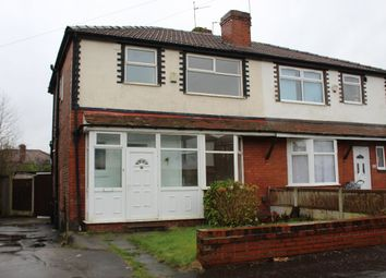 3 bed semi-detached house to rent in Huntley Road, Manchester M8