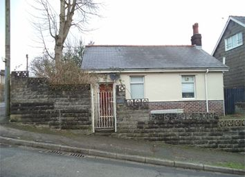 Thumbnail 1 bed detached bungalow for sale in Tredegar Road, Ebbw Vale, Blaenau Gwent