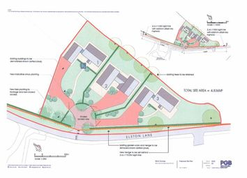 Thumbnail Land for sale in Elston Lane, Grimsargh, Preston