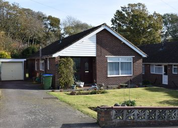 Thumbnail 3 bed detached bungalow for sale in Frosthole Crescent, Fareham