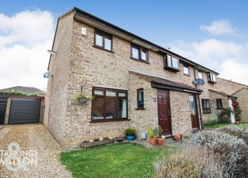 Thumbnail 3 bed end terrace house for sale in Lackford Close, Brundall, Norwich