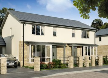 "Thumbnail 3 bedroom semi-detached house for sale in ""The Saguso 2"" at Beckford Drive, Lansdown, Bath"