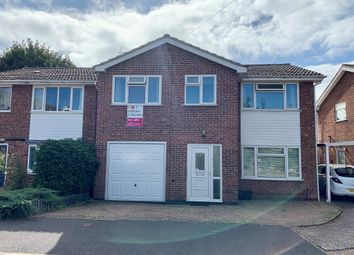 Thumbnail 4 bed detached house for sale in Tithe Close, Thringstone, Coalville