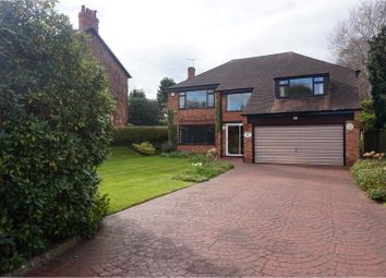 Thumbnail 5 bed detached house for sale in Delahays Road, Altrincham