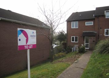 Thumbnail 3 bed end terrace house to rent in Widecombe Way, Exeter