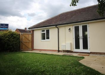 Thumbnail 1 bed bungalow to rent in Vernon Road, Poynton, Stockport