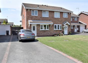 Thumbnail 3 bed semi-detached house for sale in Arlington Way, Crowhill, Nuneaton