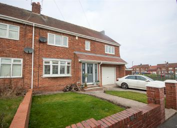 Thumbnail 4 bedroom semi-detached house for sale in Bedford Place, New Silksworth, Sunderland