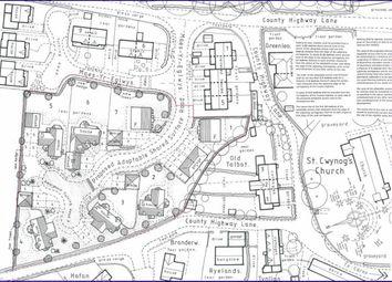 Thumbnail Land for sale in Maes Yr Eglwys, Llanwnog, Caersws