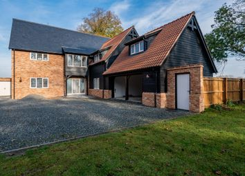 Thumbnail 5 bed detached house for sale in Dowgate Road, Leverington, Wisbech, Cambridgeshire