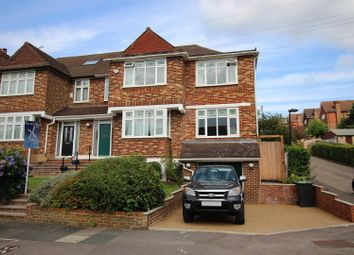 Thumbnail 5 bed semi-detached house for sale in Slades Rise, Enfield