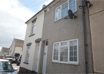 Thumbnail 2 bed terraced house to rent in Dongola Road, Rochester