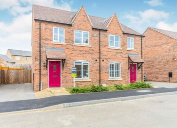 Thumbnail 3 bedroom semi-detached house for sale in Culpepper Way, Stamford