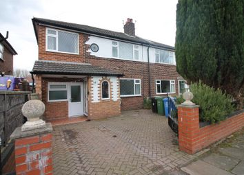 Thumbnail 4 bed semi-detached house to rent in Leyburn Avenue, Urmston, Manchester