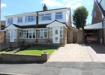 Thumbnail 3 bed semi-detached house for sale in 11 Lynmouth Close, North Chadderton
