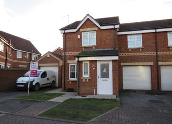 Thumbnail 3 bed semi-detached house for sale in Eildon Hills Close, Bransholme, Hull