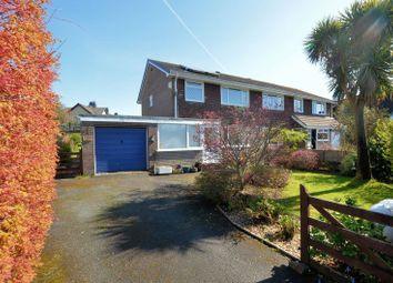 Thumbnail 3 bed semi-detached house for sale in Milton Crescent, Tavistock