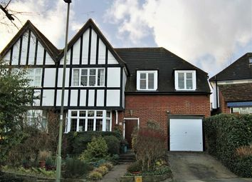 Thumbnail 4 bed semi-detached house for sale in Friars Avenue, Whetstone, London
