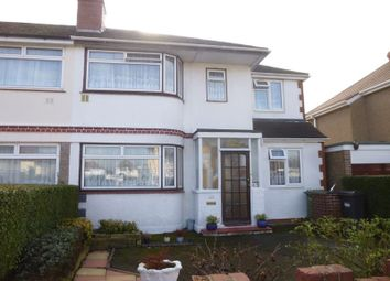 Thumbnail 5 bed semi-detached house for sale in Longford Avenue, Feltham