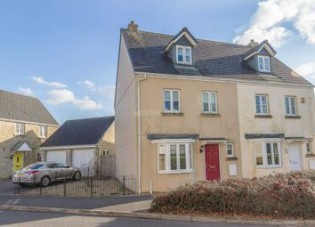 Thumbnail 4 bed semi-detached house for sale in Montgomery Drive, Tavistock