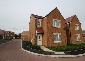 Thumbnail 3 bed detached house for sale in Bleaberry Way, Carlisle