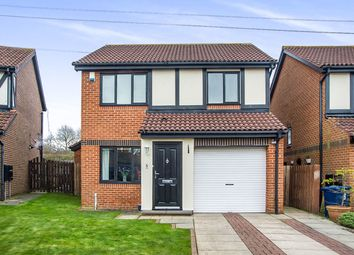 Thumbnail 3 bed detached house for sale in Marcross Close, North Walbottle, Newcastle Upon Tyne