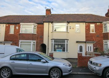 Thumbnail 3 bed terraced house to rent in Ashford Avenue, Middlesbrough