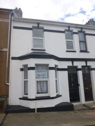 Thumbnail 1 bedroom terraced house to rent in Townshend Avenue, Plymouth