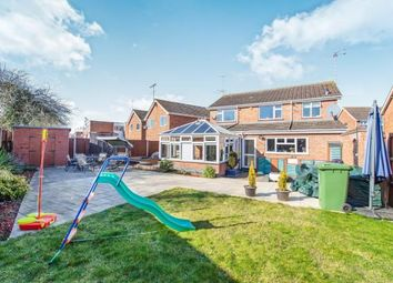 Thumbnail 4 bedroom detached house for sale in Foxcroft Close, Rowley Field, Leicester, Leicestershire