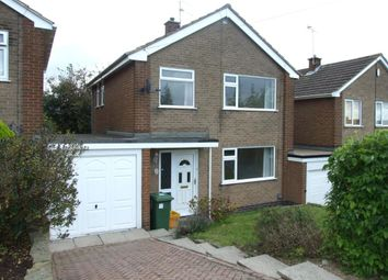 Thumbnail 3 bed detached house to rent in Pinewood Road, Belper