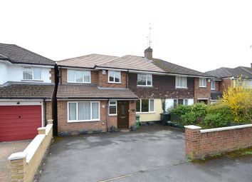 Thumbnail 4 bedroom semi-detached house for sale in Fairway Avenue, Tilehurst, Reading