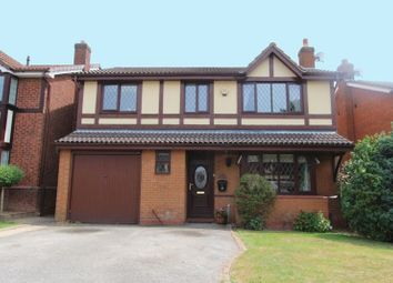 Thumbnail 4 bed detached house for sale in High Land Road, Walsall Wood, Walsall