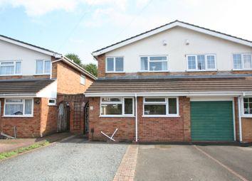 Thumbnail 3 bedroom semi-detached house for sale in Allan Close, Wordsley, Stourbridge