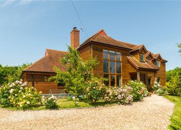 Thumbnail 4 bedroom detached house for sale in The Greenway, West Hendred, Wantage