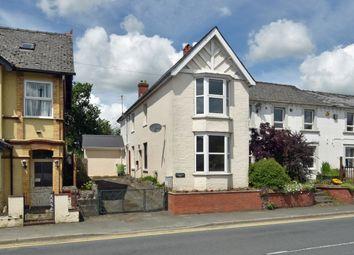 Thumbnail 3 bed semi-detached house for sale in Wellington Road, Llandrindod Wells
