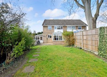 Thumbnail 3 bed semi-detached house for sale in Brackley Close, Maidstone, Kent
