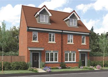"Thumbnail 3 bed mews house for sale in ""Tolkien - Discount To Market"" at Sophia Drive, Great Sankey, Warrington"
