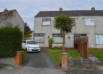 Thumbnail 2 bedroom end terrace house for sale in Talley Road, Swansea