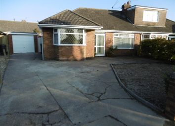 Thumbnail Semi-detached bungalow to rent in St. Peters Crescent, Humberston, Grimsby