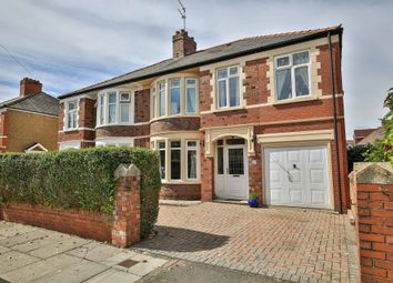 Thumbnail 5 bed semi-detached house for sale in St Ina Road, Heath, Cardiff