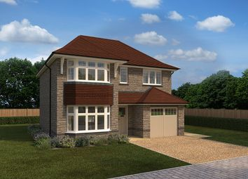 """Thumbnail 4 bed detached house for sale in """"Oxford"""" at Crediton Road, Okehampton"""