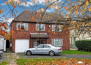 Thumbnail 4 bedroom detached house for sale in Sapcote Road, Burbage, Hinckley, Leicestershire