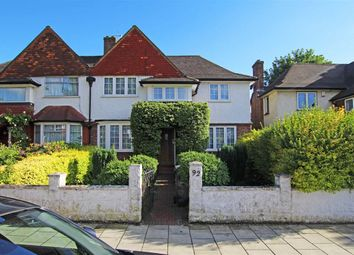 Thumbnail 3 bed semi-detached house to rent in Cricklade Avenue, London