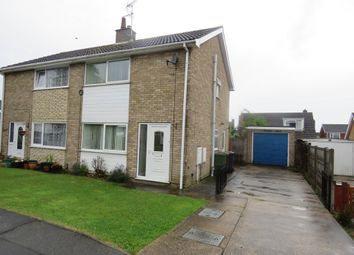 Thumbnail 3 bed semi-detached house for sale in Sperrin Close, Lincoln