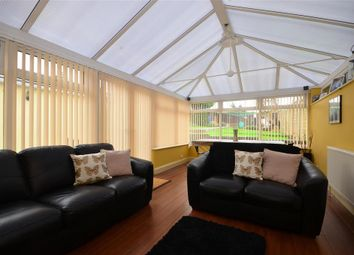 Thumbnail 4 bed semi-detached bungalow for sale in The Brow, Woodingdean, Brighton, East Sussex