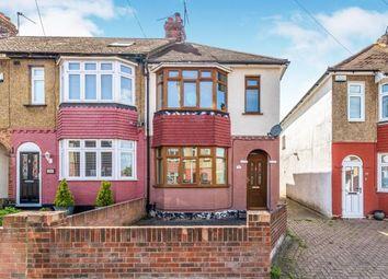 Thumbnail 2 bed end terrace house for sale in Chalkenden Avenue, Rainham, Gillingham, Kent