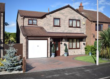Thumbnail 4 bed detached house for sale in Birchcroft Drive, Mansfield
