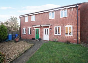 Thumbnail 3 bed semi-detached house for sale in Pexalls Close, Hook