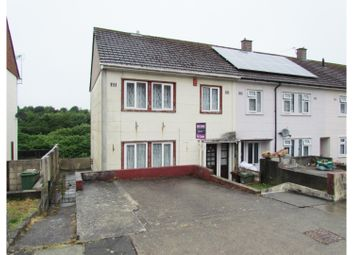 Thumbnail 3 bedroom end terrace house for sale in Fountains Crescent, Plymouth