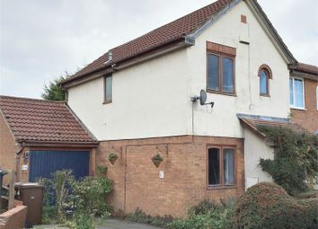 Thumbnail 2 bed end terrace house for sale in Inwood Close, Corby, Northamptonshire